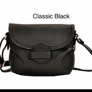 Soft Black  Crossbody Bag